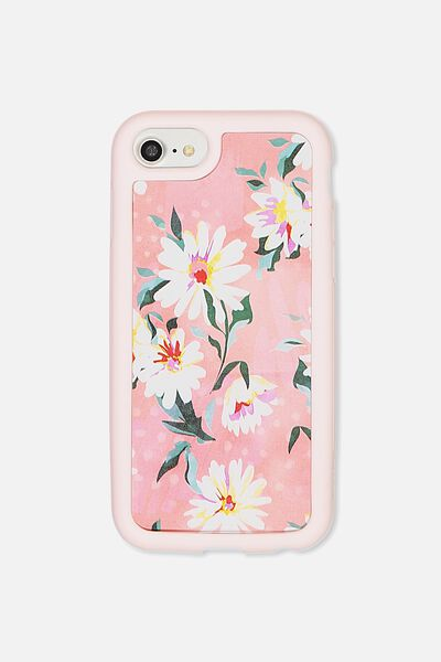 Superior Phone Case Universal 6,7,8, PINK DAISY