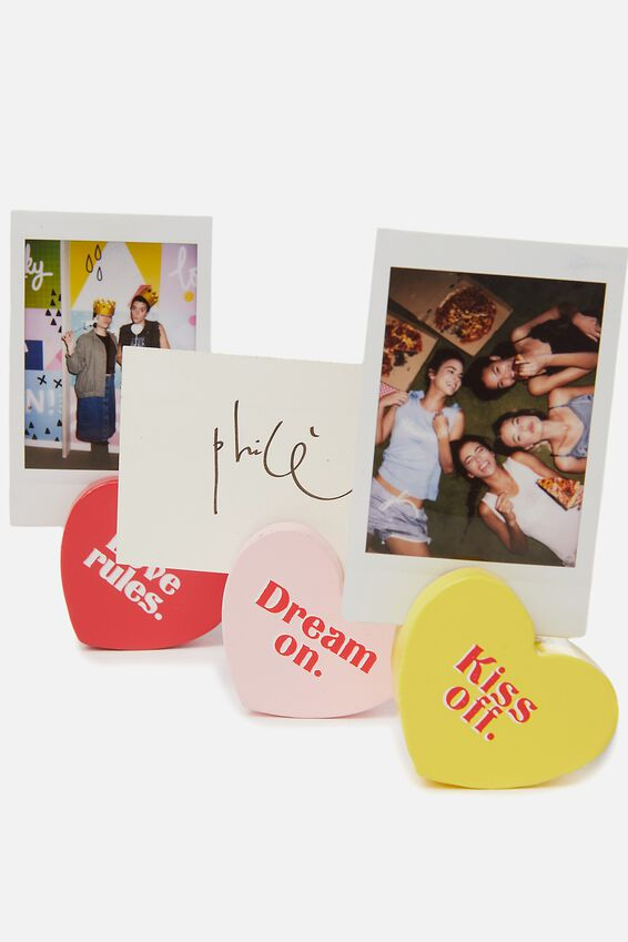 Heart Photo Blocks, PASTEL MULTI