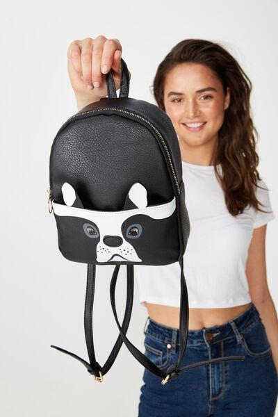 Mini Cairo Backpack, NOVELTY FRENCHIE