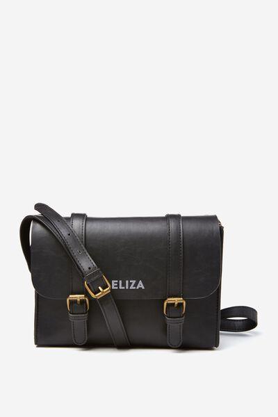 Mini Harry Bag Personalisation, BLACK