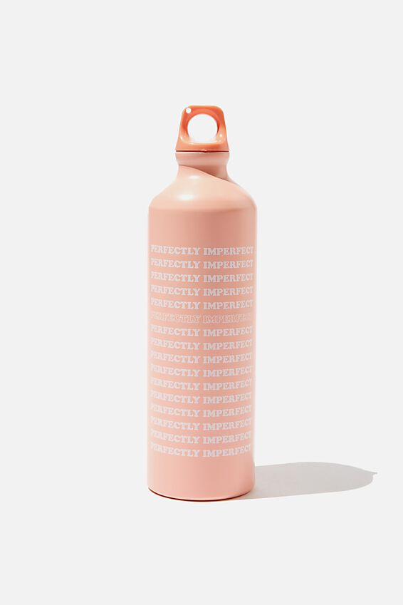 Single Wall Metal Drink Bottle, PERFECTLY IMPERFECT