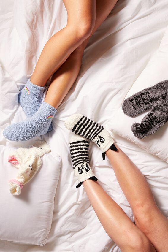 Slipper Sock, RAINBOW