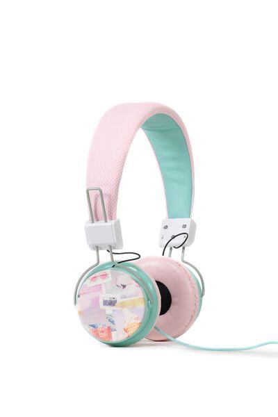Wanderer Headphones, COLLAGE