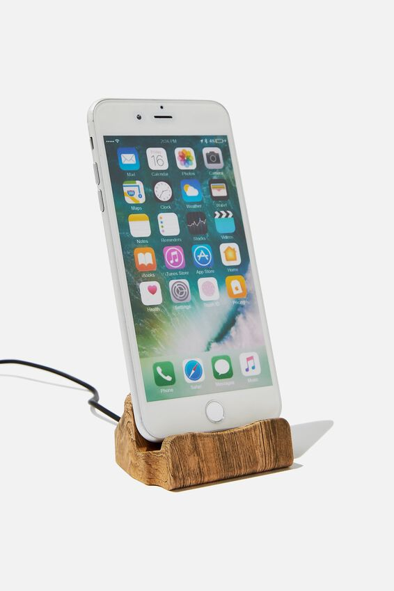 Phone Docking Station, WILD WEST WOODGRAIN