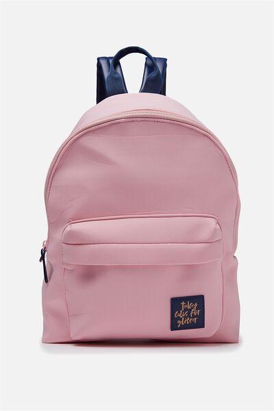 Havana Backpack, PINK NEOPRENE