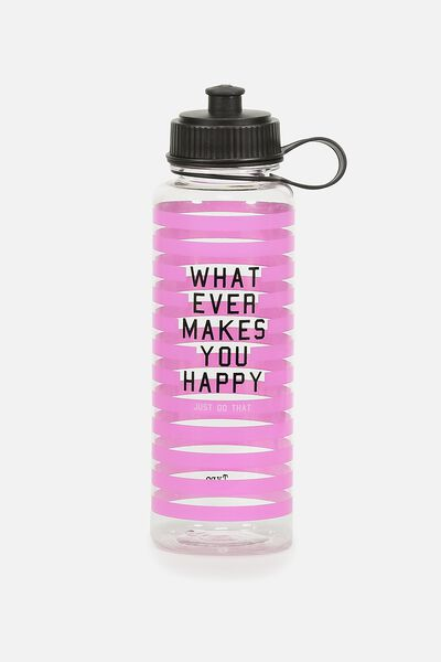 The Quencher Drink Bottle, JUST DO THAT