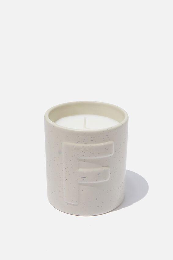 Alpha Candle, F