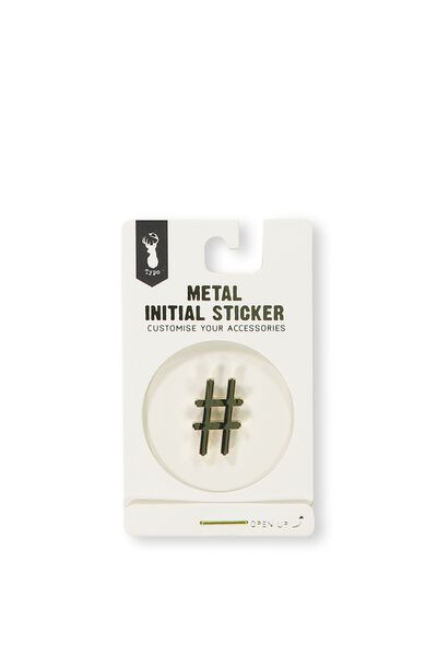Metal Stickers,