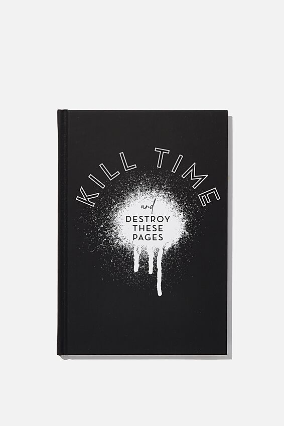 A5 Kill Time Activity Journal, KILLING TIME