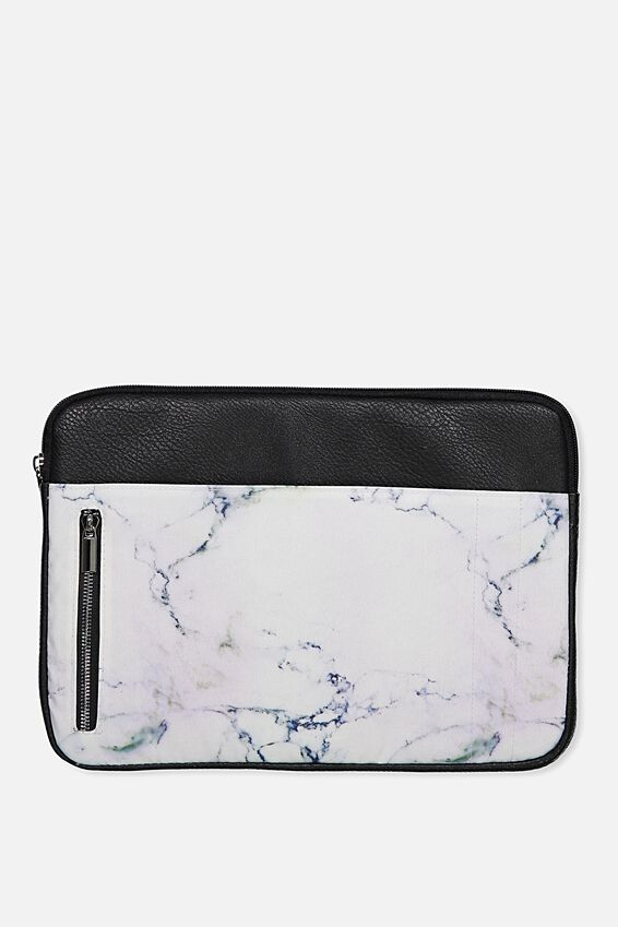 Take Charge Laptop Cover 13 inch, LUSH MARBLE