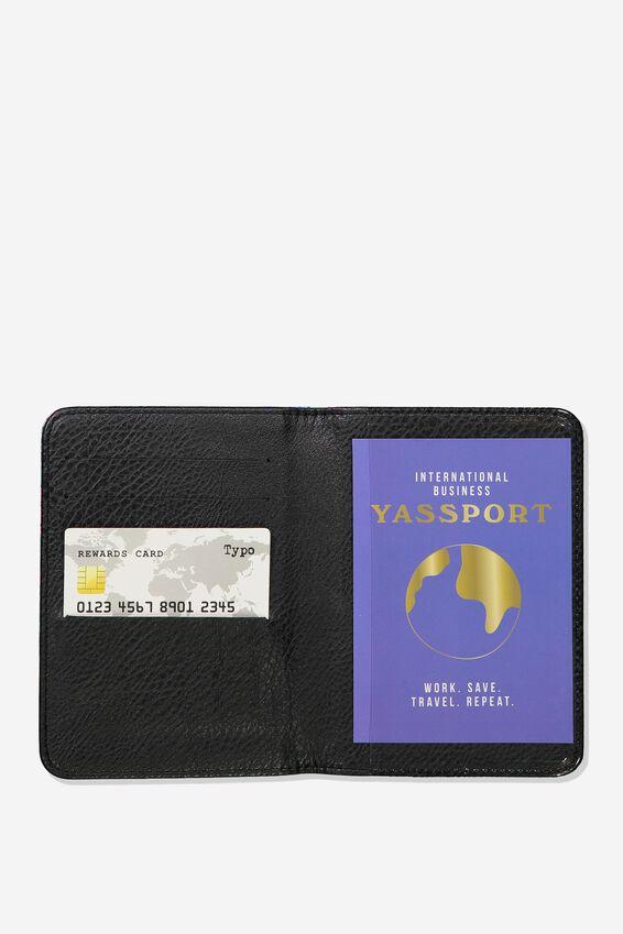Rfid Passport Holder, RESORT FLORAL