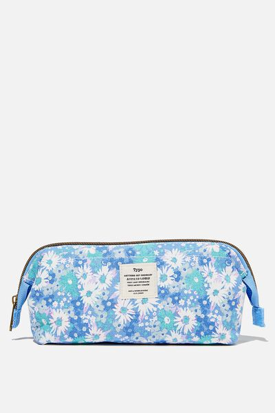 Billie Pencil Case, DITSY CORNFLOWER