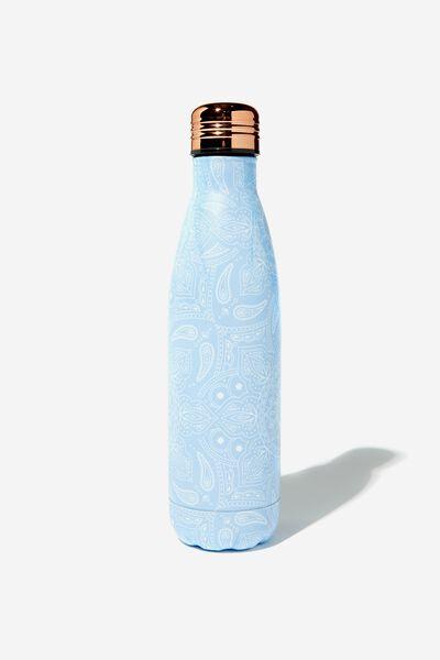 Metal Drink Bottle, MANDALA LACE