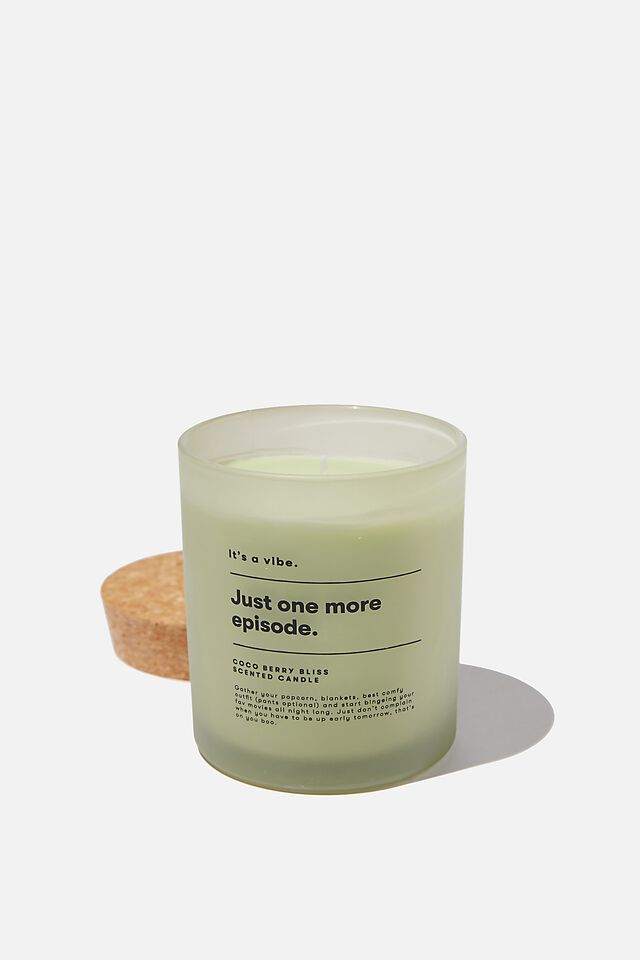 Its A Vibe Candle, DRYLAND ONE MORE EPISODE