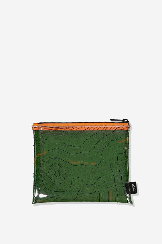 Clear It Pencil Case, MAP YARDAGE