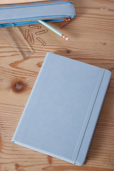 A5 Buffalo Journal, POWDER BLUE