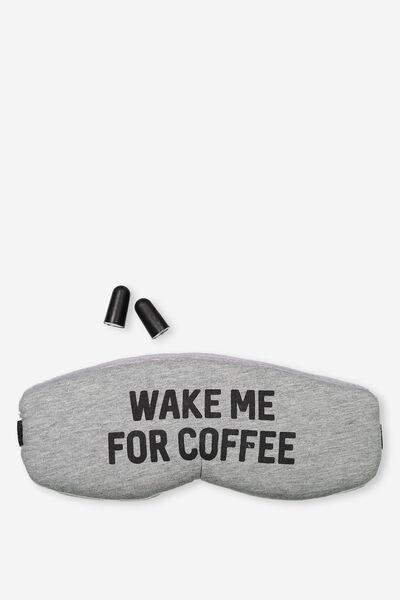 Total Block Out Set, WAKE ME FOR COFFEE