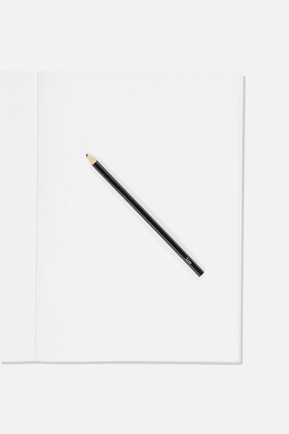 A4 Sketch Mate Book, KHAKI TRUST ME