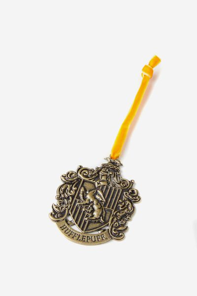 Licensed Christmas Ornament, LCN HP HUFFLEPUFF