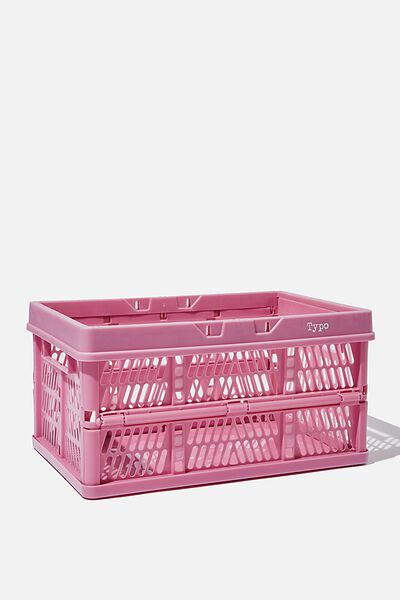 Midi Foldable Storage Crate, COSMOS
