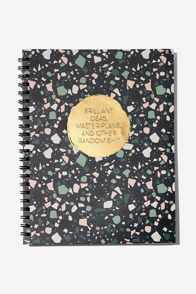 A4 Campus Notebook, MASTER PLANS