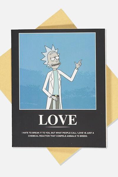 Love Card, LCN CNW RM RICK LOVE
