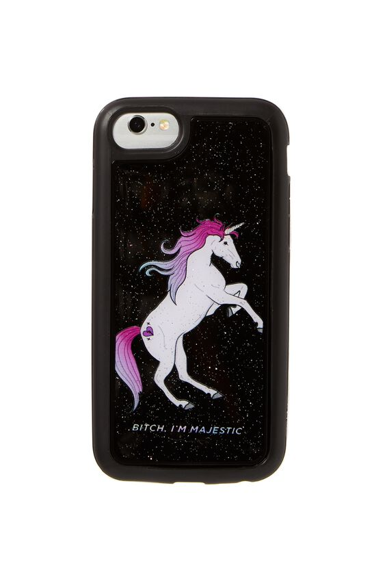 Superior Phone Case Universal 6,7,8, BLACK MAJESTIC