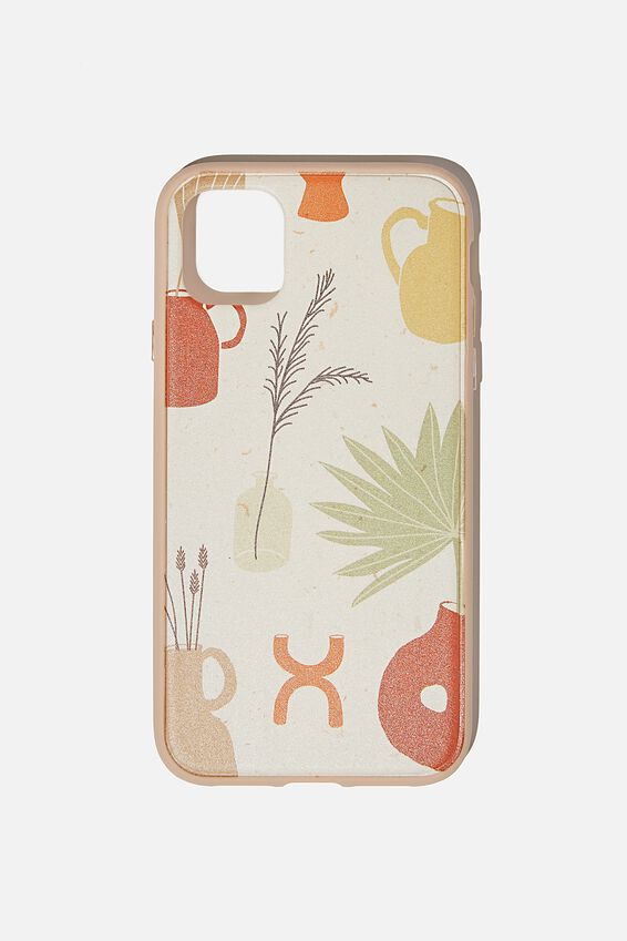 Protective Phone Case iPhone 11, POTS & PLANTS YDG