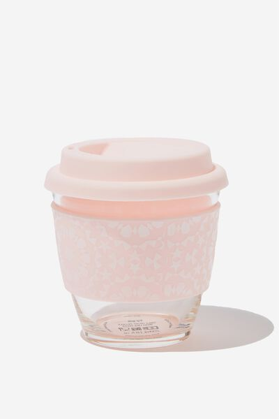 All Day Travel Cup 8Oz, MOROCCAN TILE PINK