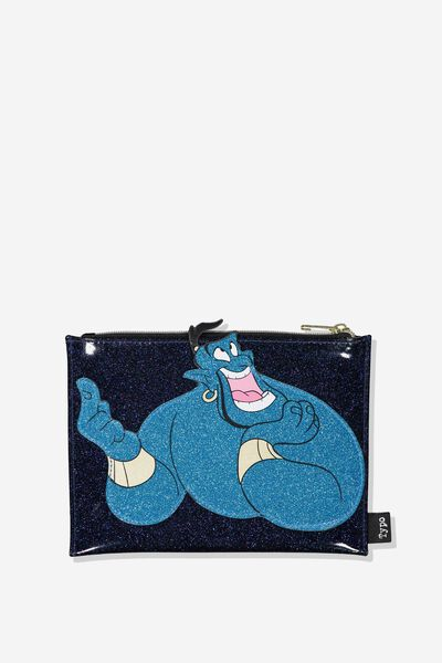 Fashion Applique Pencil Case, LCN ALADDIN GENIE