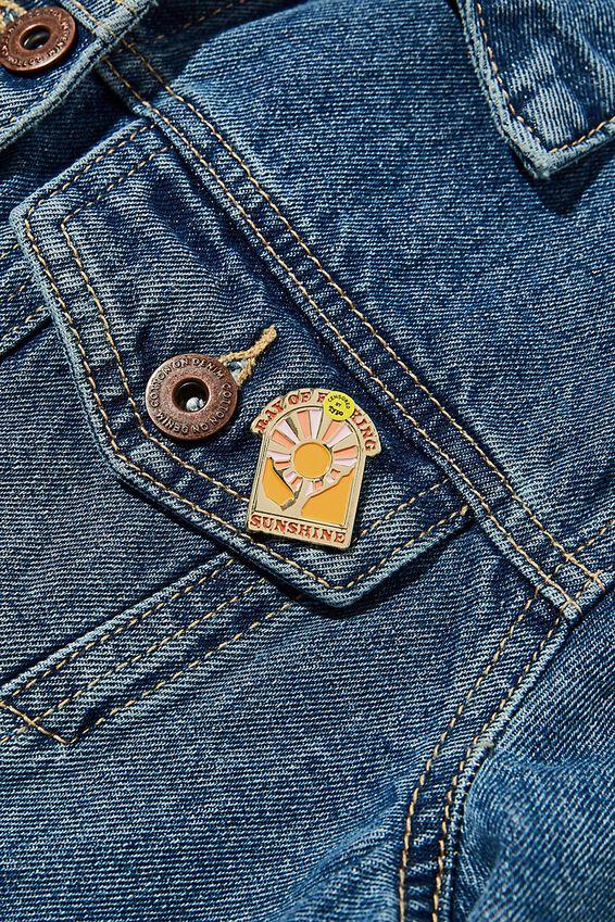 Enamel Badges, RAY OF F###ING SUNSHINE!!