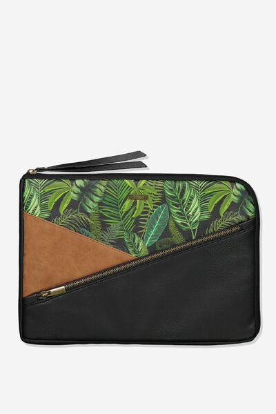 Premium Laptop Case 13 inch, FERN FOLIAGE