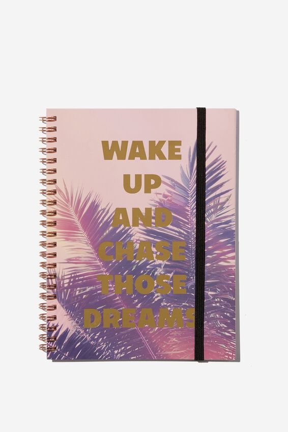 Small Spinout Notebook - V, CHASE THOSE DREAMS