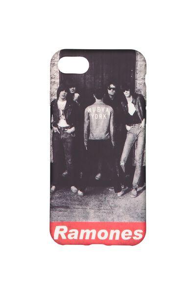 Transparent Phone Cover 7, 8, LCN RAMONES