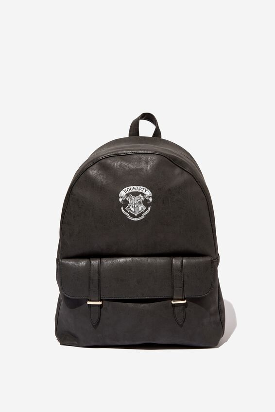 Scholar Backpack, LCN WB BLACK HARRY POTTER EMBLEM