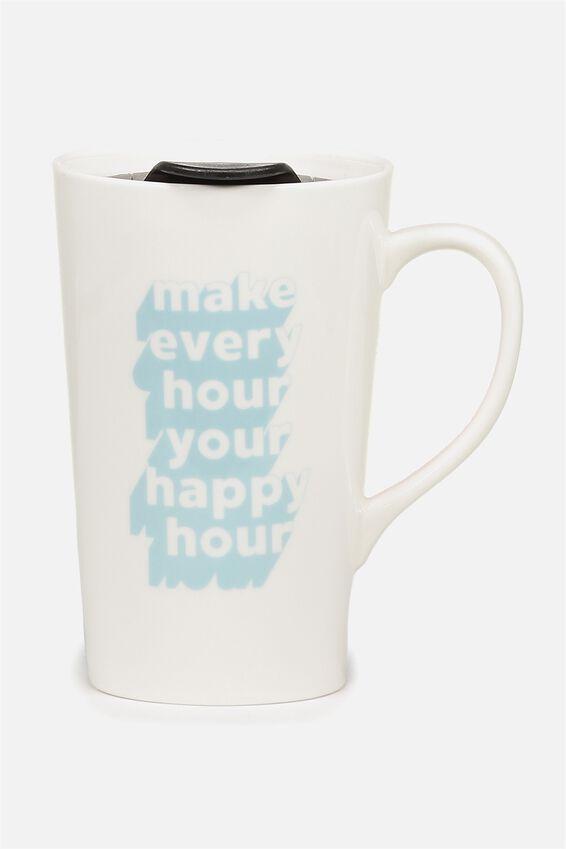 Nomad Travel Mug, MAKE EVERY HOUR