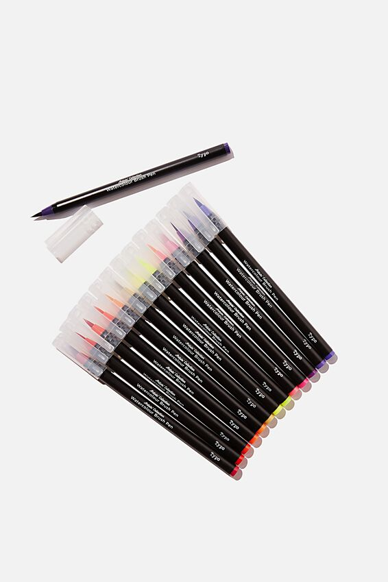 Watercolour Brush Pen Expansion Pk, SUMMER SUNSET