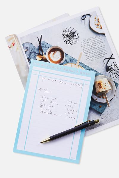 A5 Plan Ahead Planner, BLUE ACTUALLY BUSY