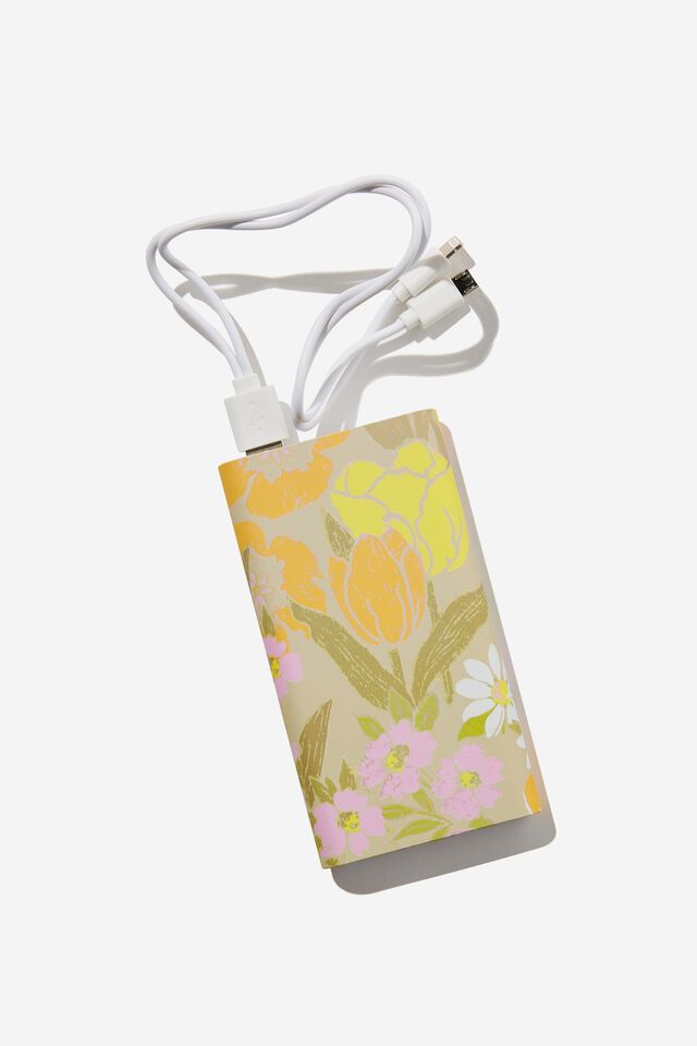 Ultimate Charge It Charger, SAND GOLDIE FLORAL