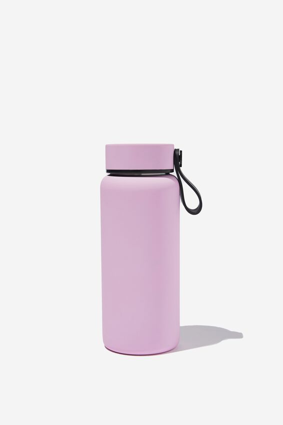 On The Move Metal Drink Bottle 350Ml, WILD LILAC