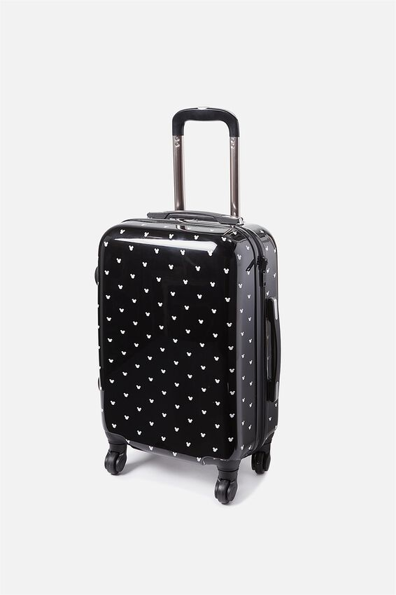 Lcn Small Suitcase, LCN MICKEY DITSY PRINT