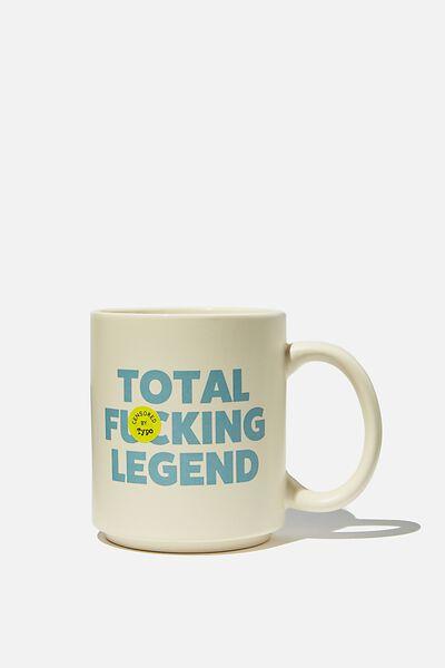 Daily Mug, TOTAL F LEGEND ECRU!!