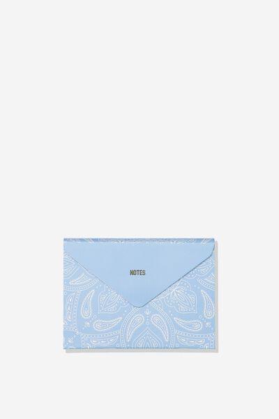 Pocket Sticky Note Set, BLUE MANDALA
