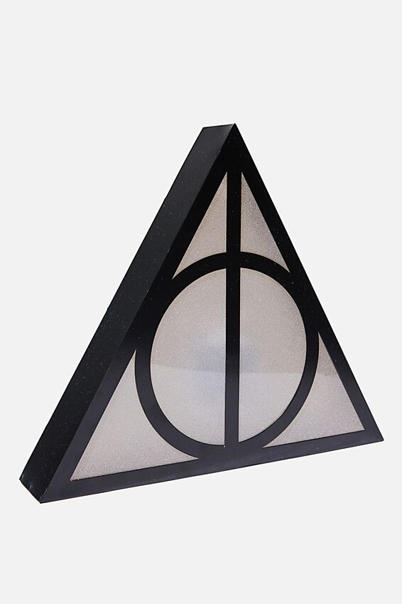 Harry Potter Midi Shaped Novelty Light, LCN WB HPO HALLOWS