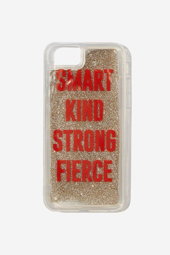 Shake It Phone Case Universal SE, 6,7,8, SMART KIND STRONG