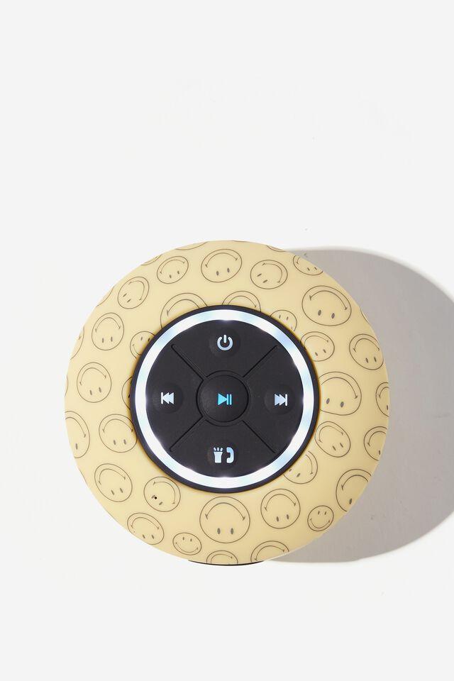 Wireless Led Shower Speaker, LCN SMI SMILEY OUTLINE YDG 2.0