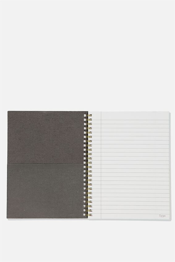 A5 Spinout Notebook Recycled, CHANGE THE UNIVERSE