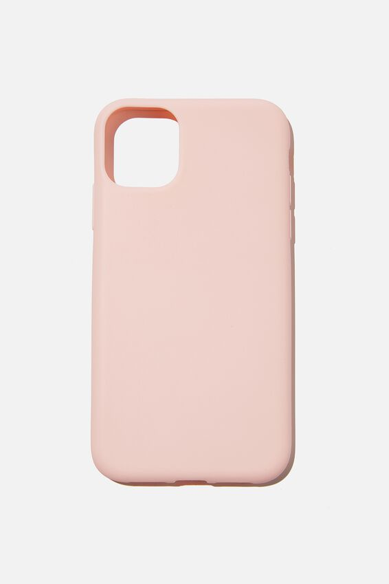 Recycled Phone Case iPhone 11, PALE PINK