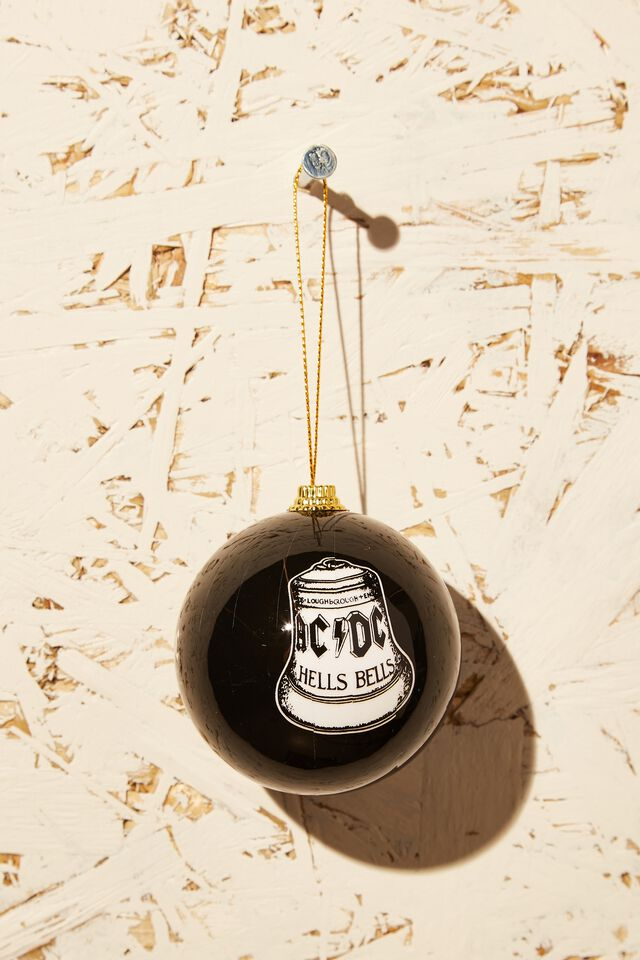 ACDC Christmas Bauble, LCN BRA ACDC HELLS BELL