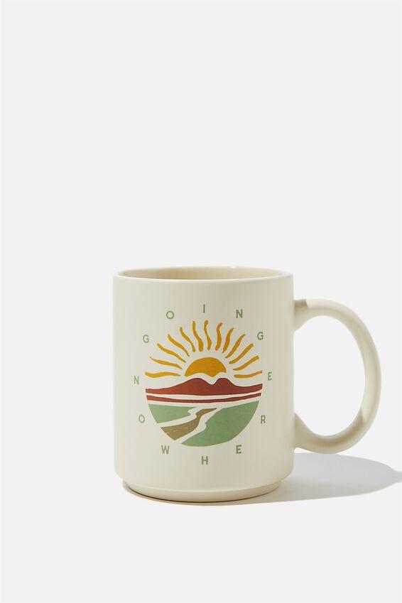 Daily Mug, GOING NOWHERE